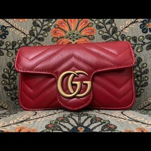 Gucci Marmont Supermini Crossbody